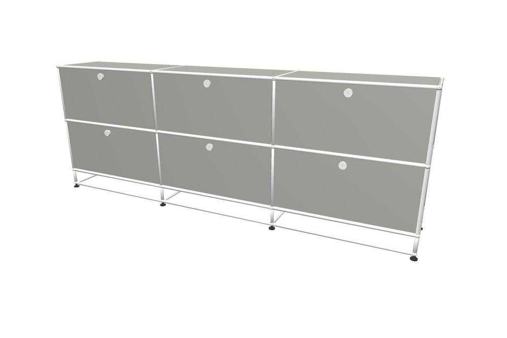 USM Haller Sideboard 2250 mit 6 Klapptüren und Sockel – Bild 9