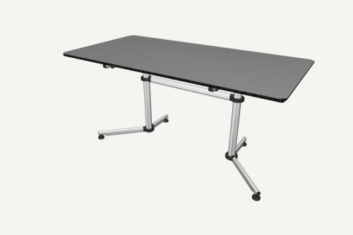 USM Kitos Tisch 1500 x 750 Furniere oder Linoleum – Bild 1