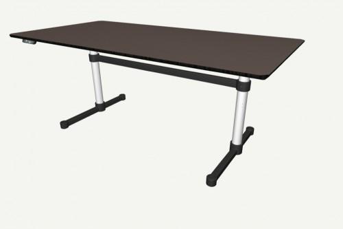 USM Kitos Tisch 1800 x 900 E2 Furniere oder Linoleum – Bild 3