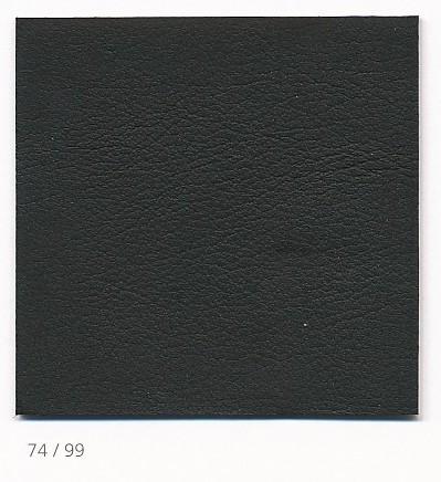 Wilkhahn FS 220/9 Leder schwarz Pfeifensteppung chrom – Bild 2