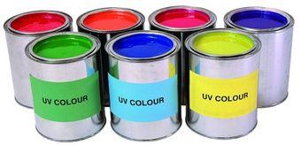 UV-aktive Leuchtfarbe / Schwarzlichtfarbe - Pink - 250ml