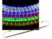 LED-Stripe - Verlängerung - selbstklebend  - 0,25m - 15 SMD-LEDs - Rot 001
