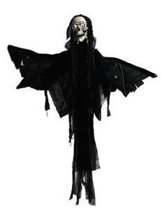 Halloween - Figur Engel - animiert - 1,60m