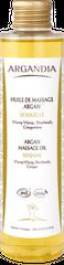Argan Massageöl mit ätherischen Ölen - Ylang Ylang, Patschuli, Ingwer - sinnlich