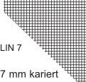 Schulheft Heft A4 Lin 7, 16 Blatt kariert 7mm Kästchen