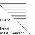 Schulheft Heft A4 Lin 25, 16 Blatt, liniert mit Rand