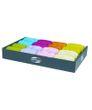 Geschenkband 20m x 13mm Bast Trendfarben