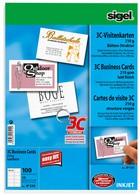 Visitenkarten 3c Hochweiss Leinen Struktur Papier Kopie