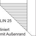 Schulheft Heft A4 Lin 25, 16 Blatt, liniert mit Rand Schutzumschlag A