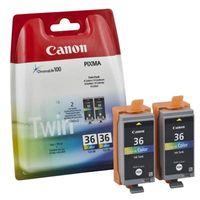 Canon 36, CLI 36C, color, Original Tintenpatrone, color, Inhalt: 2x12ml Twin