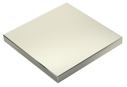 Starker Magnet 470Kg Zugkraft Güte N45 100x100x10mm