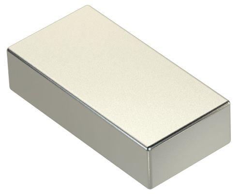 Neodym Power Magnet 40x20x10mm N52 60Kg 1stk.