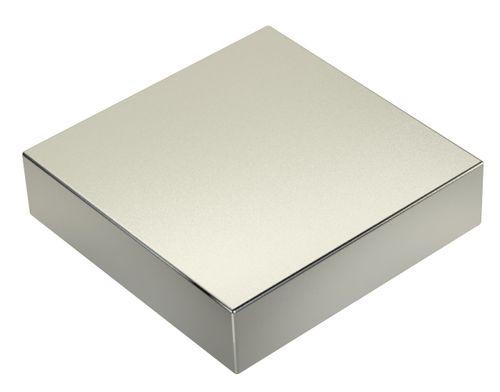Neodym Power Magnet 80x80x20mm N52 400Kg 1stk.