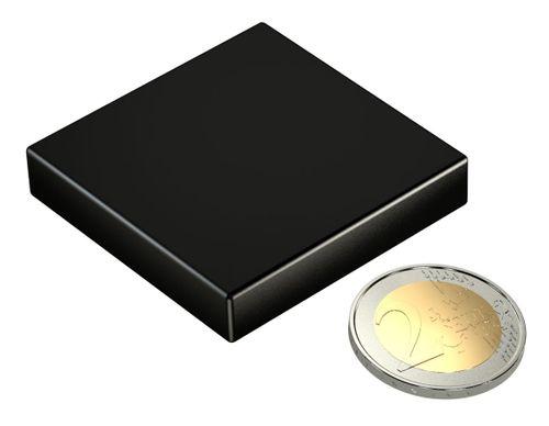 Neodym Power Magnet 50x50x10mm N45 160Kg 1stk