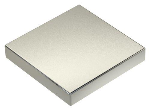 3stk x Neodym Power Magnet 60x60x10mm N45 200Kg