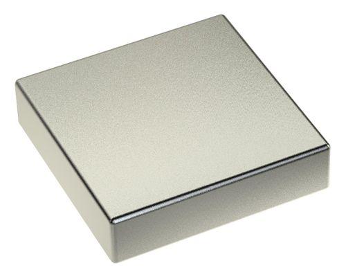 3stk x Neodym Power Magnet 40x40x10mm N45 120Kg