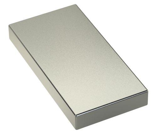 Neodym Power Magnet 80x40x10mm N45 150Kg 1stk.