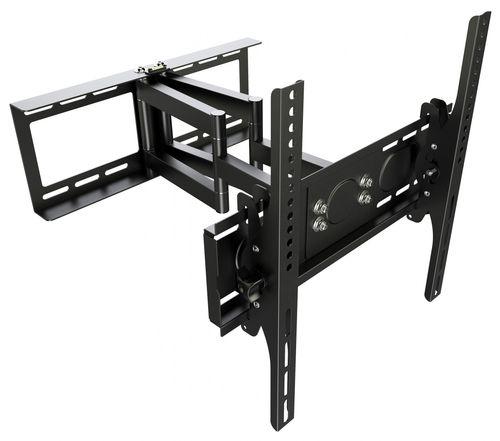 """TV Wandhalterung Schwenkbar Neigbar R08 Universal LCD Wandhalter Ausziehbar Fernseher Halterung Curved 4K OLED LED Flachbildfernseher 76cm/30""""-165cm/65"""" Zoll / VESA 200x200 400x400 / Schwarz"""