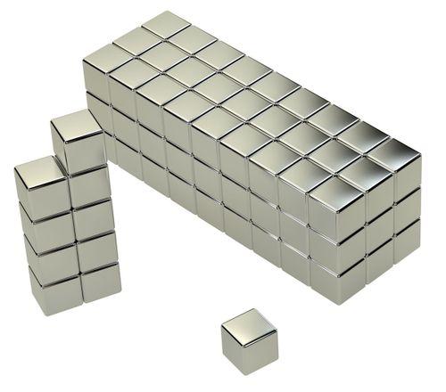 NEODYM MAGNET QUADER 5x5x5mm N45 1,6Kg 100stk – Bild 6