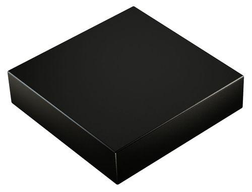 Neodym Power Magnet 80x80x20mm N52 400Kg schwarz 1stk.