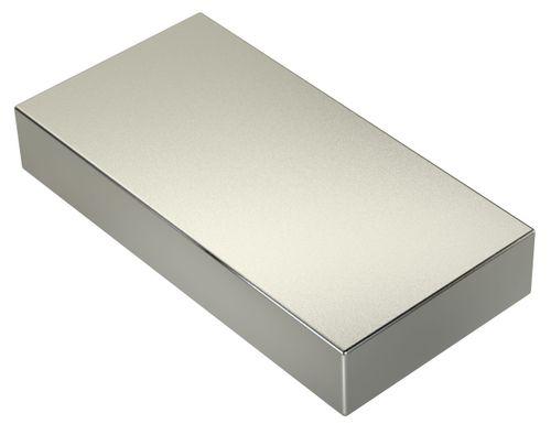 Neodym Magnet 380Kg Zugkraft 144cm³ 120x60x20mm N45