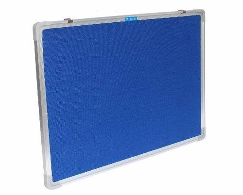 Filz Pinnwand 120x90cm Memory Board BLAU PWHQ-12090-B
