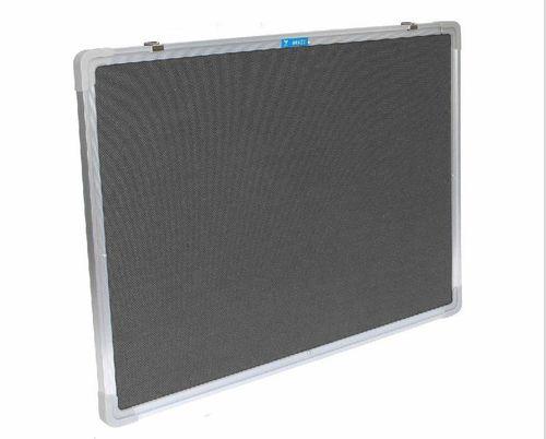 Filzboard Memory Pinwand 60 x 90cm GRAU PWHQ-6090-G