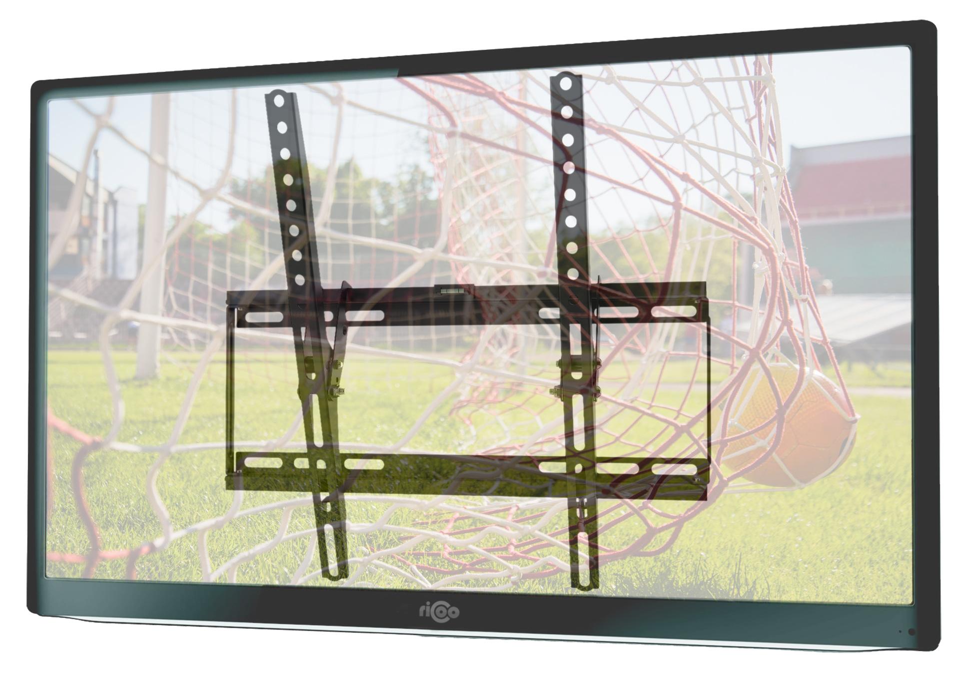 Stabile Wandhalterung für TV neigbar 40mm flach   N1944 10710