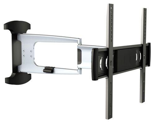 TV Wandhalterung modern in Silber ca.76-140cm S1044