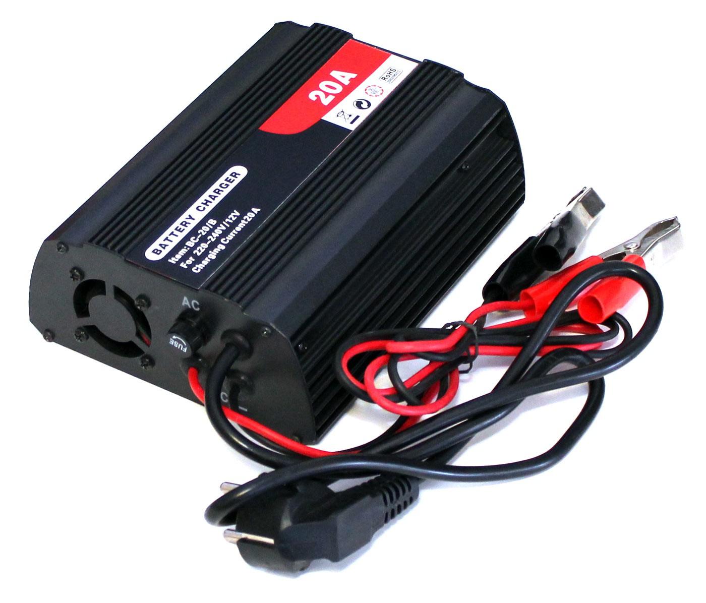 kfz batterie ladeger t 20a f r 12v batterien bc 20 b 10746. Black Bedroom Furniture Sets. Home Design Ideas