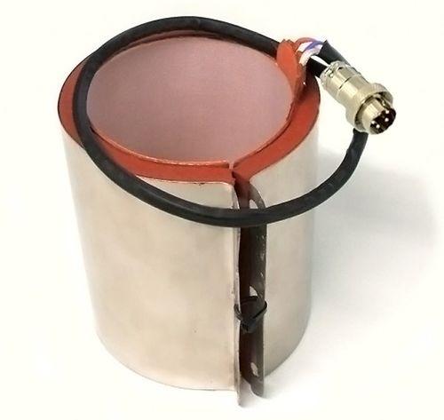 Heizmanschette für Tassenpresse M505 Stecker mit 4 Metallpins