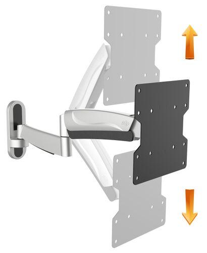 Schwenkbare Monitor / TV Wandhalterung Gasdruck | S2722