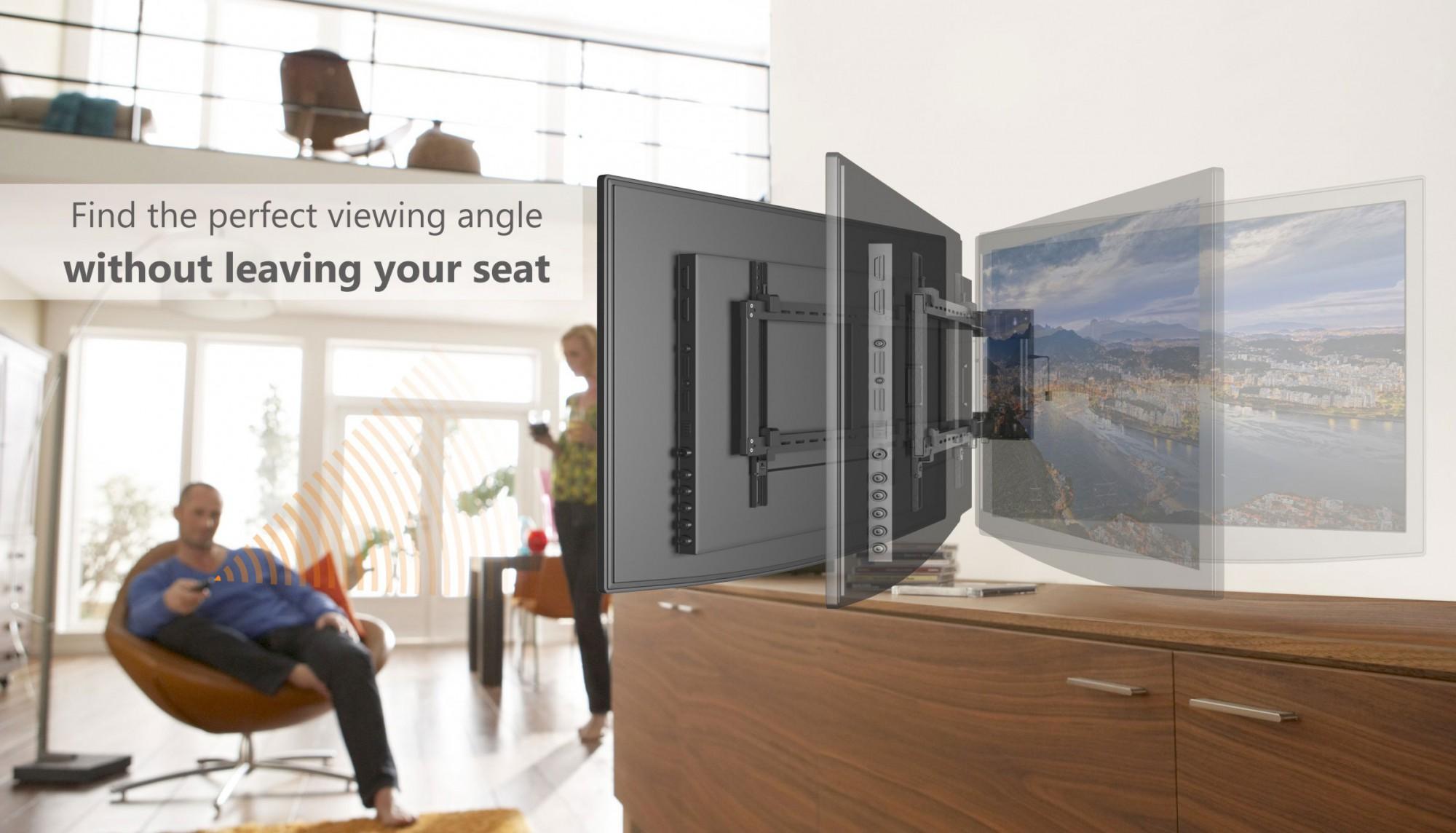 elektrische tv wandhalterung monitor ca30 65 se2544 - Motorisierte Tvhalterung Unter Dem Bett