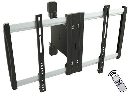 RICOO Motorisierte TV Wandhalterung Schwenkbar LCD Wandhalter SE2564 Elektrische Fernseher Halter Fernsehhalterung Universal VESA 300x200 600x400 / Fernsteuerung /