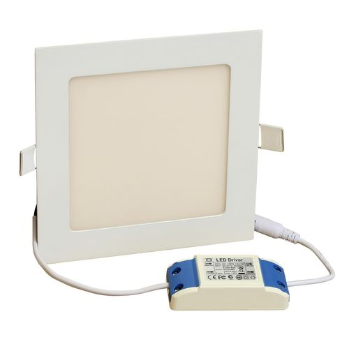 LED Wandlampen-Panel 170x170mm 950Lm 12W Warmweiß LP1717H12W12