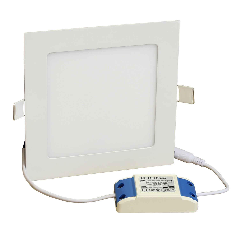 Deckenleuchten LED-Panel 170x170mm Kaltweiß LP1717H12W12K 10855