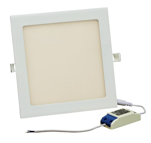 LED Wandleuchte Strahler 20W 220x220mm 1500Lm Warmweiß LP2222H12W20