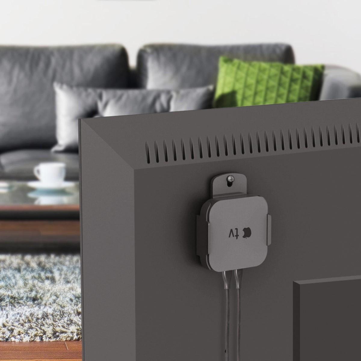 halterung apple tv 2 3 airport express 2 wand aptv01 10918. Black Bedroom Furniture Sets. Home Design Ideas