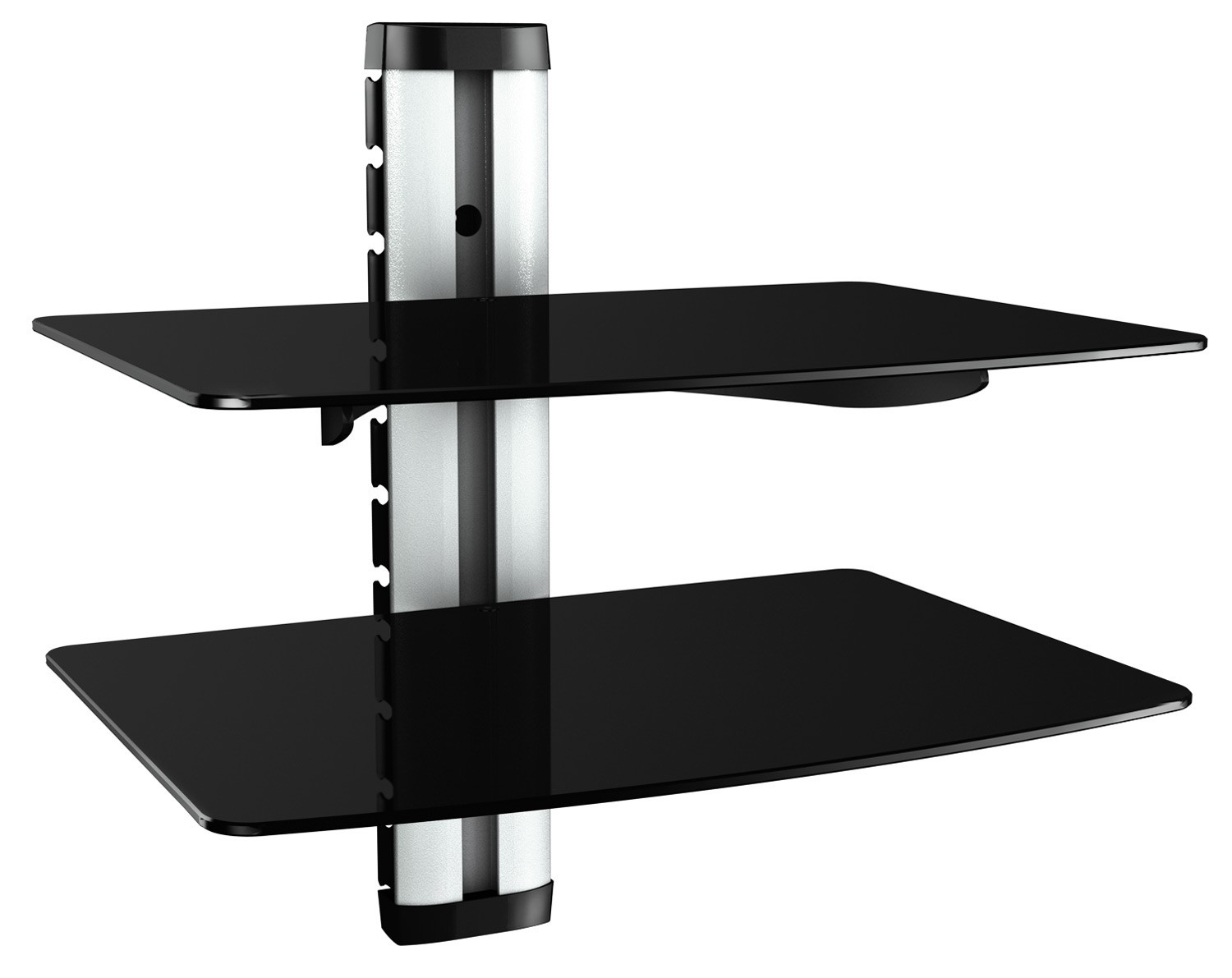 hifi regal dvd wandhalterung glas wandboard glasregal xl 11178. Black Bedroom Furniture Sets. Home Design Ideas