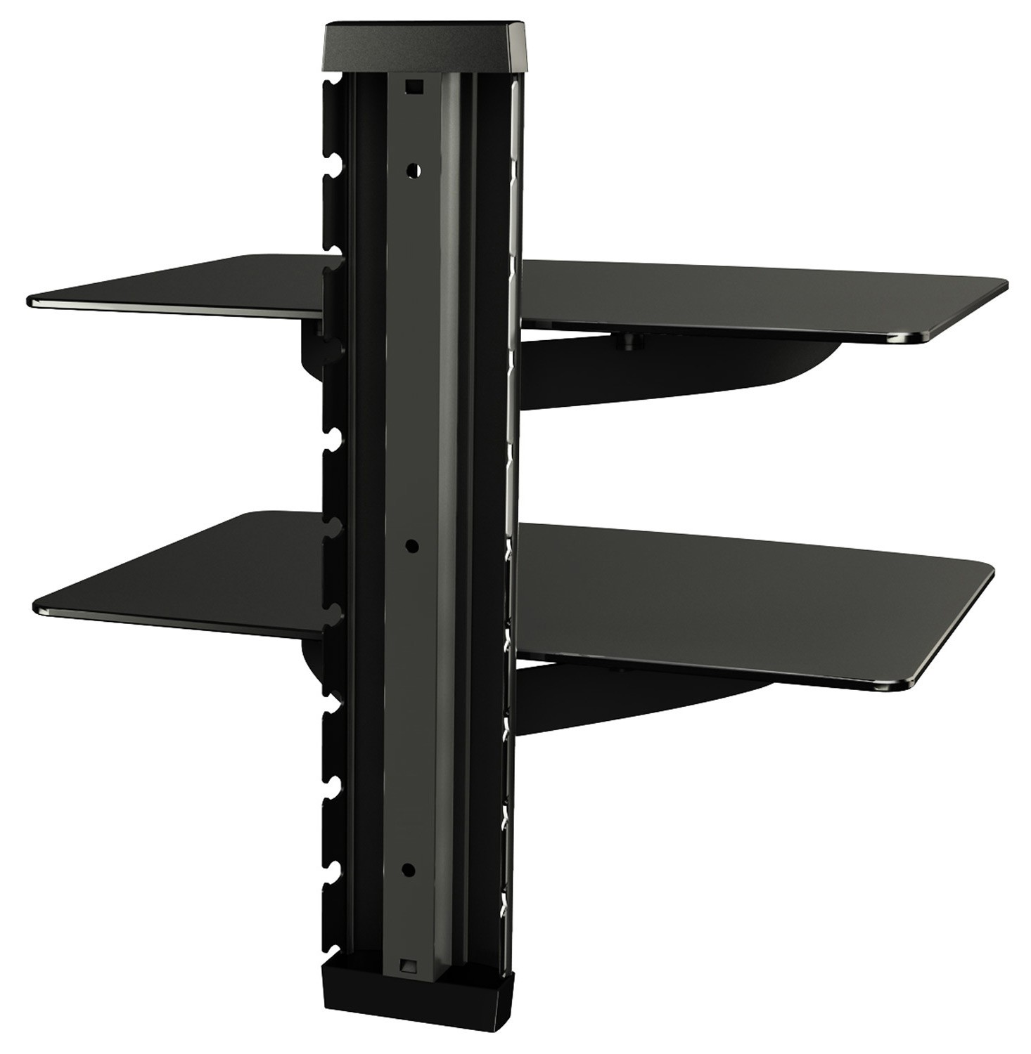 glasregal hifi wandregal wandboard hi fi regal dvd wand 11179. Black Bedroom Furniture Sets. Home Design Ideas