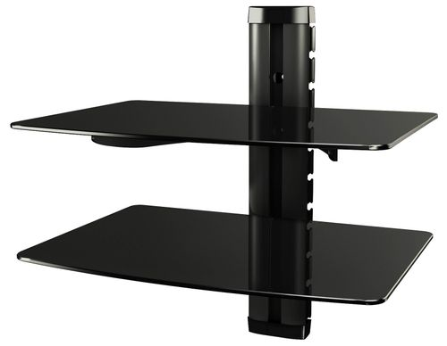 Glasregal Hifi-Wandregal Wandboard Hi-Fi Regal DVD Wand