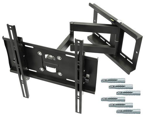 """TV Wandhalterung Schwenkbar Neigbar R23F Plasma LCD LED ca. 30""""-65"""" VESA max.400x400 mit Fischer® Dübel"""