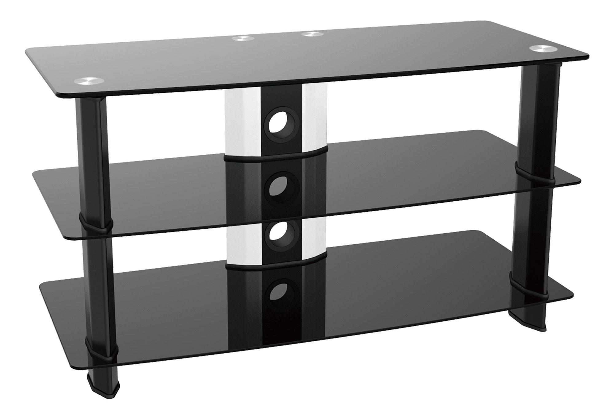 tv stand glas regal f r led lcd tv ft506 11254. Black Bedroom Furniture Sets. Home Design Ideas