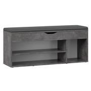 Schuhregal mit Sitzfläche Aufklappbar Schuhschrank Sitz Flur WM034