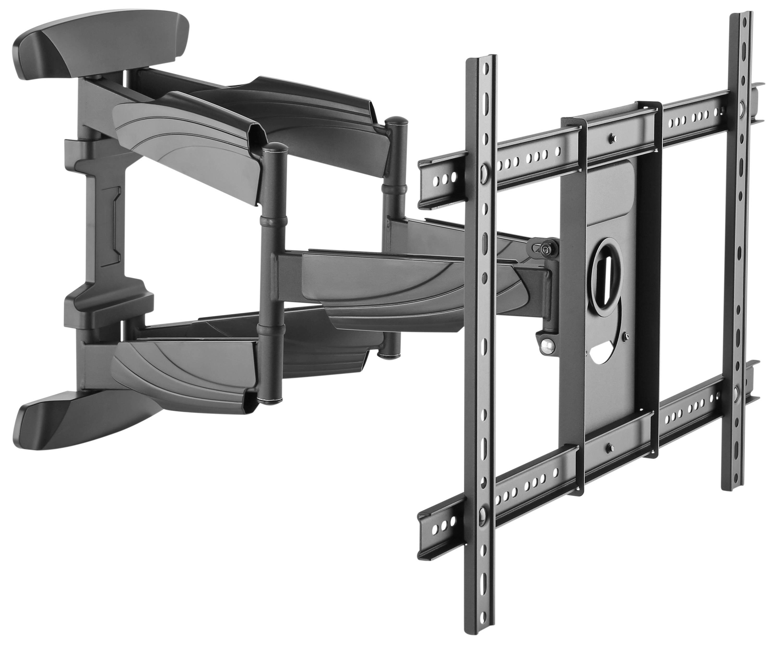 schwenkbare bildschirm tv wandhalterung robust neigbar. Black Bedroom Furniture Sets. Home Design Ideas