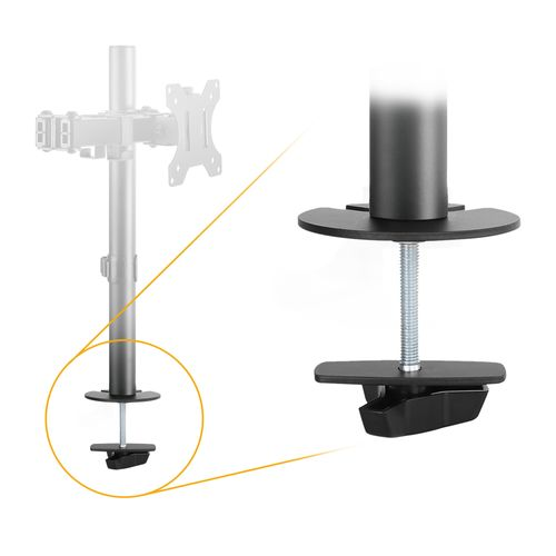 Z5811 - Tischloch Montage Set für Tischhalterungen TS2511/ TS2611 / TS2711 / TS2811 / TS5611 / TS5711 / TS5811 / TS6711 von RICOO