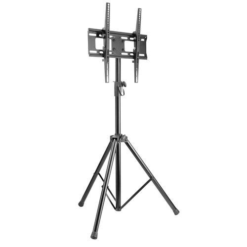 Teleskop TV Stand höhenverstellbar ausziehbar für TV 32 42 47 55 Zoll bis VESA 400x400 FS0844