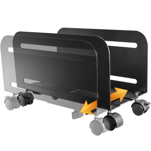 Mobile Rechner Halterung mit Rollen RH-04
