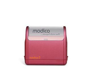 Stempel Modico 3 [49mm x 15mm] - 4 Zeilen in 5 Gehäusefarben und 6 Andruckfarben – Bild 2