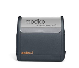 Stempel Modico 5 63mm x 24mm] - 6 Zeilen in 3 Gehäusefarben und 6 Andruckfarben – Bild 4